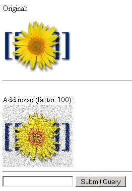 Пример добавления шумов к изображению на PHP Gd lib