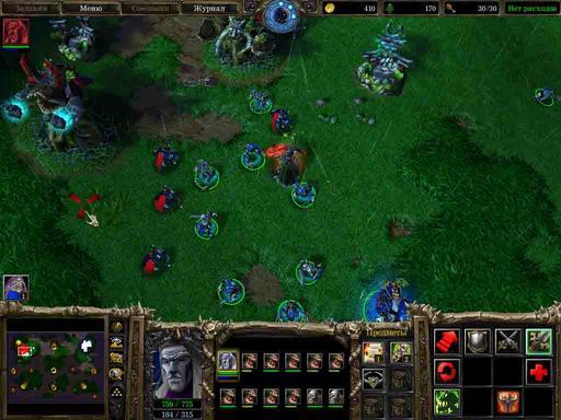 Warcraft III: The Frozen Throne - Учимся тонкостям игры