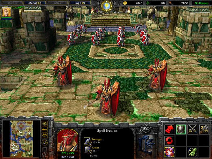 warcraft 3 frozen throne, игровая механика и магический манускрипт
