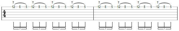 Гитарное упражнение 2