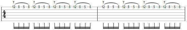 Гитарное упражнение 3