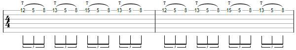 Гитарное упражнение 4
